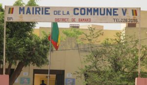 La Commune V  du district de Bamako